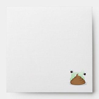 Stinky Poo; Grunge Envelopes
