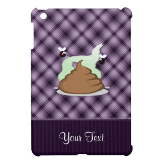 Stinky Poo; Purple iPad Mini Cases