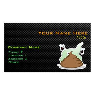 Stinky Poo; Sleek Business Card Templates