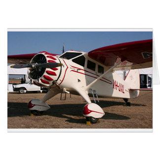 Stinson Aircraft Card