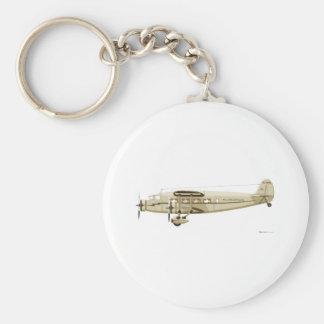 Stinson Airliner Model U Basic Round Button Keychain