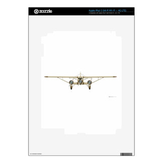 Stinson Airliner Model U Front View iPad 3 Decal