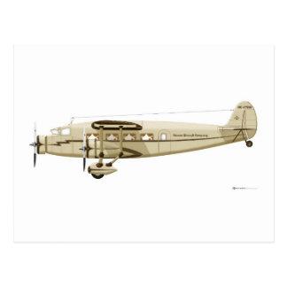 Stinson Airliner Model U Postcard