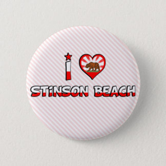 Stinson Beach, CA Button