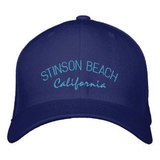 Stinson Beach California Embroidered Hat