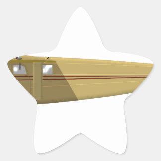 Stinson Junior Model S Star Sticker