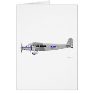 Stinson Model T Airliner Card