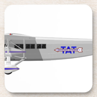 Stinson Model T Airliner NC11138 Drink Coaster
