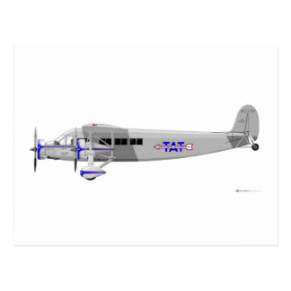 Stinson Model T Airliner Post Card