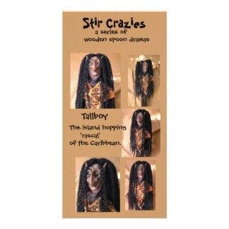 Stir Crazies Blank Photo Card