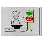Stir Fry Humorous Cutting Board