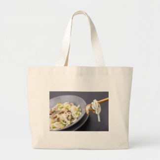 Stir Fry with Mushrooms Cloth Shopping Bag