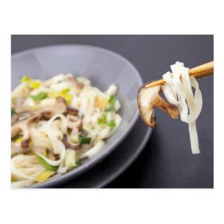 Stir Fry with Mushrooms Postcard