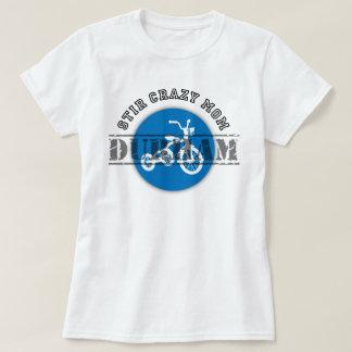 Stir Mamá-Durham loco: La camiseta de las mujeres Playera