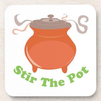 Stir The Pot Beverage Coaster
