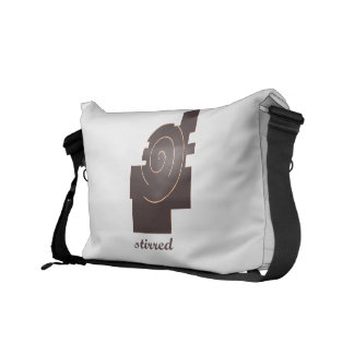 stireed courier bag