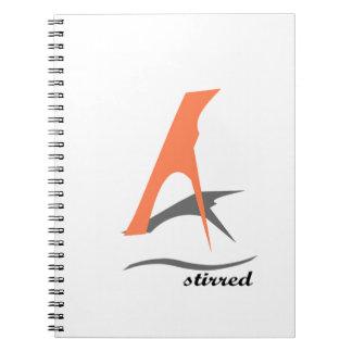 stireed spiral notebooks