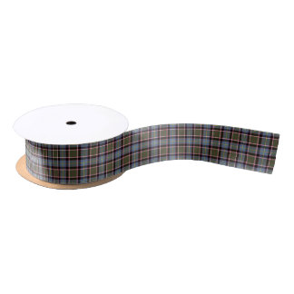 Stirling and Bannockburn Scotland District Tartan Satin Ribbon