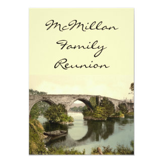 Stirling Bridge, Stirling, Scotland Card