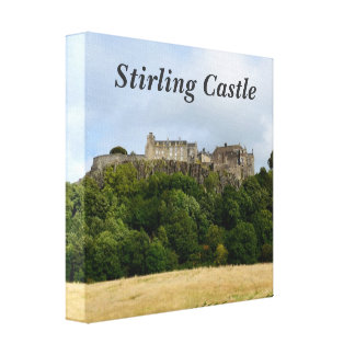 Stirling Castle Stretched Canvas Print