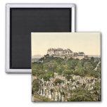 Stirling Castle, Stirling, Scotland 2 Inch Square Magnet