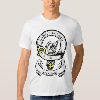 STIRLING Coat of Arms Tshirt