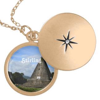 Stirling Scotland Locket Necklace