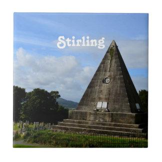 Stirling Scotland Tile