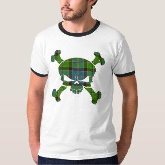 Stirling Tartan Skull No Banner T-Shirt