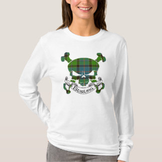 Stirling Tartan Skull T-Shirt