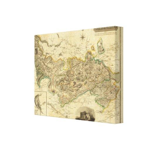 Stirlingshire Impresión En Lienzo