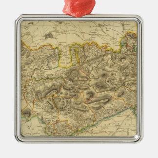Stirlingshire Metal Ornament
