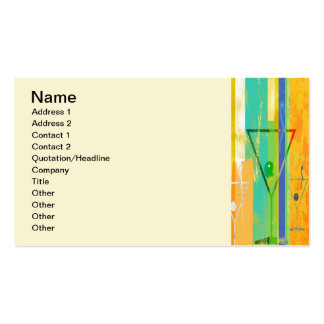 Stirred Not Shaken Double-Sided Standard Business Cards (Pack Of 100)