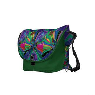 Stirred up colors messenger bag
