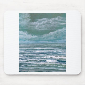 Stirred Up Sea Ocean Painting Beach Art Gifts Mousepads