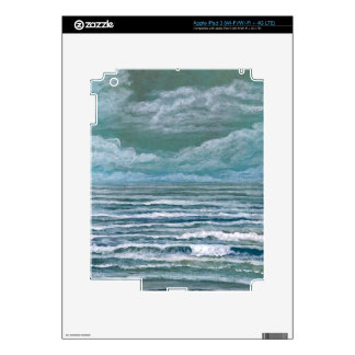 Stirred Up Sea Ocean Painting Beach Art Gifts Skins For iPad 3