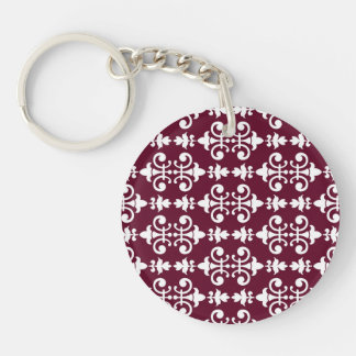 Stirring Amiable Sensible Compassionate Double-Sided Round Acrylic Keychain