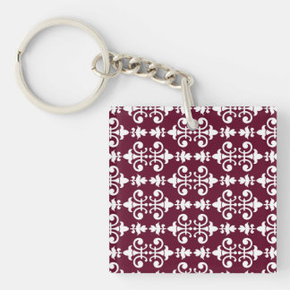 Stirring Amiable Sensible Compassionate Single-Sided Square Acrylic Keychain