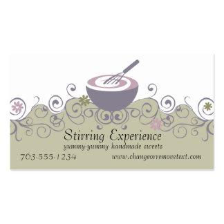 stirring bowl whisk baking batter bakery busine... business card templates