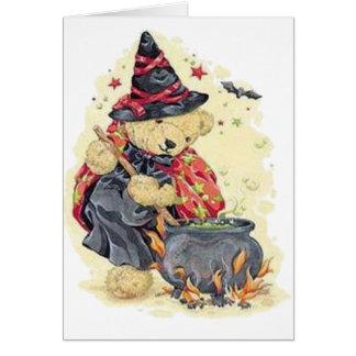 Stirring the Cauldron Greeting Card