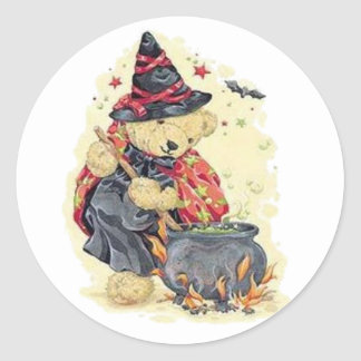 Stirring the Cauldron Classic Round Sticker