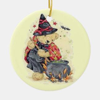 Stirring the Cauldron Christmas Tree Ornament