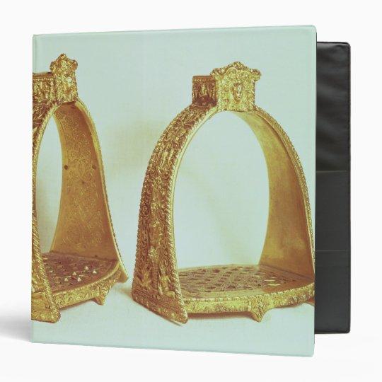 Stirrups belonging to Louis XIV 3 Ring Binder