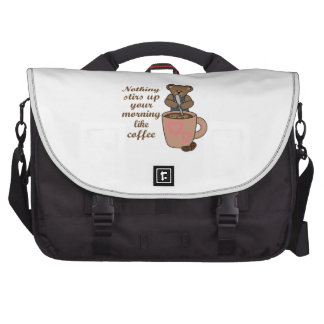 STIRS UP YOUR MORNING BAG FOR LAPTOP