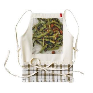 Stiry fry delicacy zazzle HEART apron