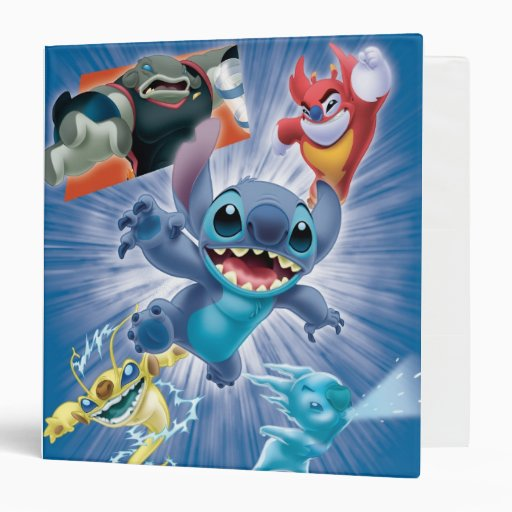 Stitch and Friends 3 Ring Binders