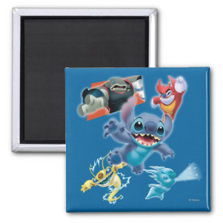 Stitch and Friends Magnets