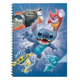 Stitch and Friends Notebook
