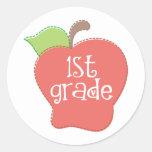 Stitch Apple 1st grade Stickers