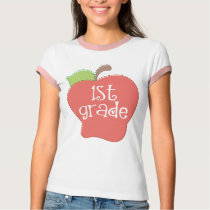 Stitch Apple 1st grade T-Shirt
